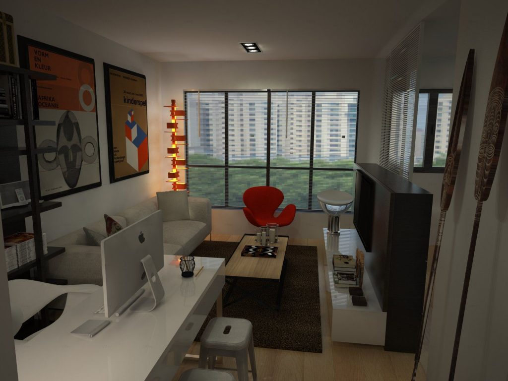 2 room bto interior design